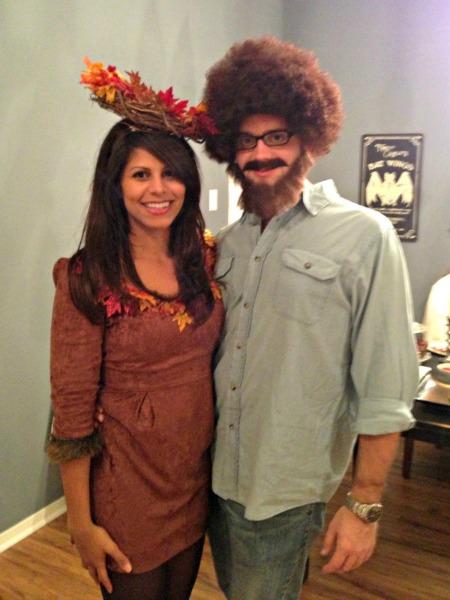 The REWM:Halloween costumes 2012: Bob Ross + a happy little tree ...