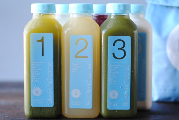Blueprint Cleanse juices