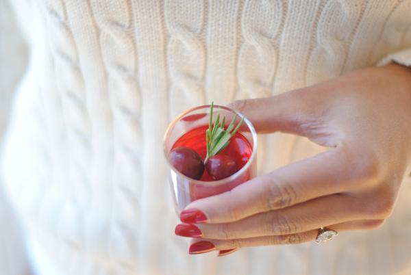 cranberry jello shots