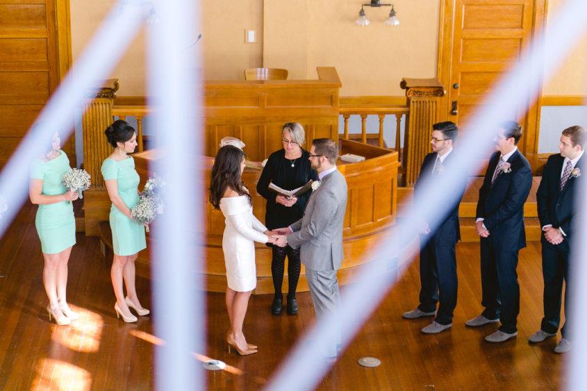 Williamson County Courthouse Wedding || Georgetown, TX || Katherine O'Brien Photography