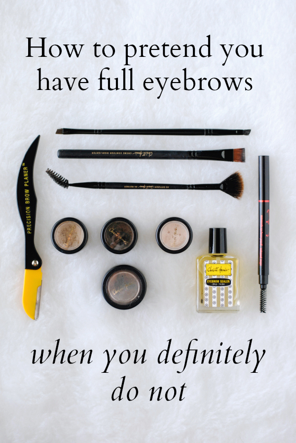 How to Fake Fuller Eyebrows || The Rewm
