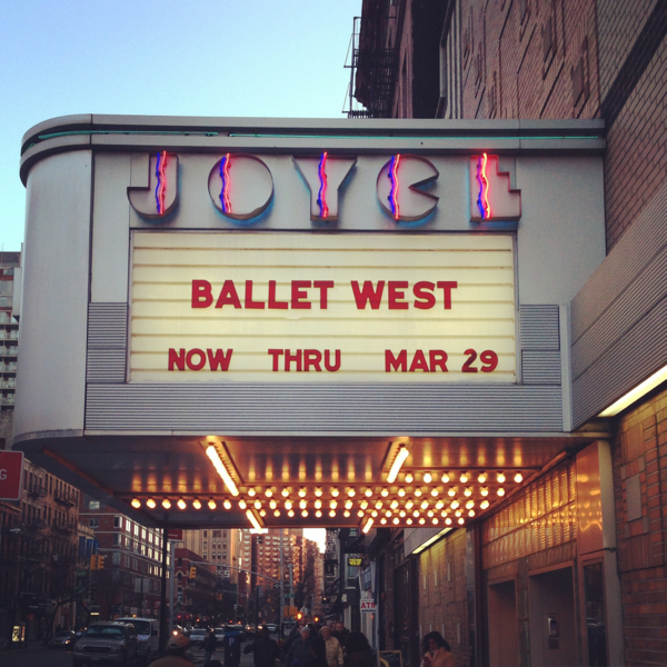Joyce Theater NYC