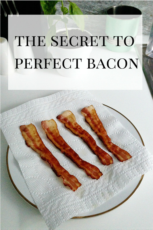 The Secret to Perfect Bacon