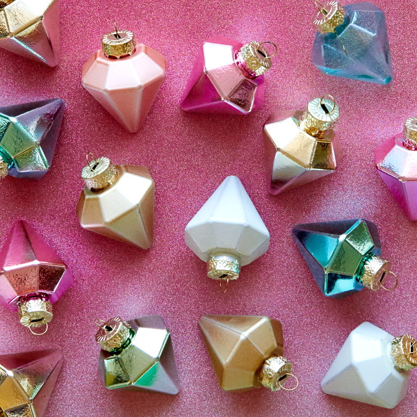 diamond ornaments